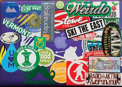 Are Decals or Stickers on a Laptop Unprofessional?